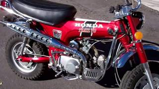 1972 Honda CT70 HK1 Ruby Red