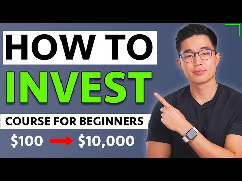 How to Invest In Stocks for Beginners 2021 [FREE COURSE]