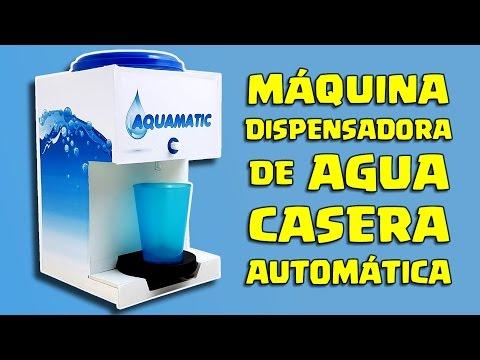 DISPENSADOR de AGUA CASERO y AUTOMÁTICO - AQUAMATIC