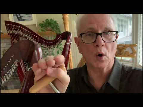 Mikel Harps sound video and customer reviews- Lever harp