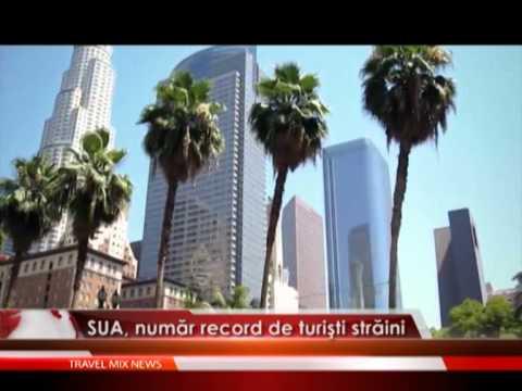 SUA , numar record de turisti straini