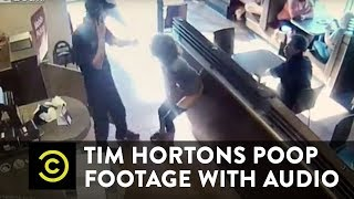 Tim Hortons Poop Footage WITH AUDIO