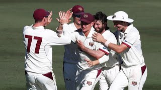 Labuschagne claims early bragging rights after classic catch | Marsh Sheffield Shield 2020-21