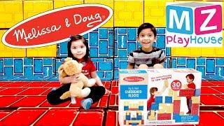 Melissa & Doug Big & Bold Cardboard Blocks Kids Play Fun Toys