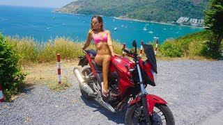 Летим в Тайланд. Пхукет после острова демонов Бали! Аренда крутого Байка Honda CBR500! Жилье Пляжи