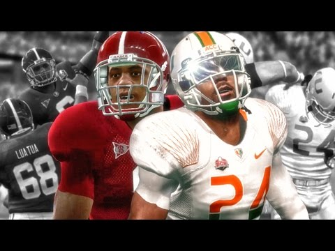NATIONAL CHAMPIONSHIP vs ALABAMA! NCAA 14 Road to Glory Gameplay Ep. 31