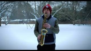 """Dave Pollack on his 10MFAN Alto Madness saxophone mouthpiece. Snow sessions volume 1: """"Summertime"""""""