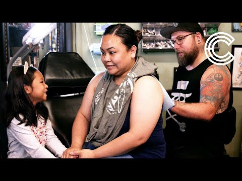 Kids Design Tattoos for Their Parents