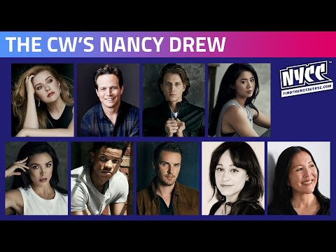 The CW's Nancy Drew Panel - Featuring the Cast & Producers