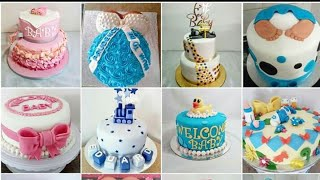cake decorating for baby boy shower