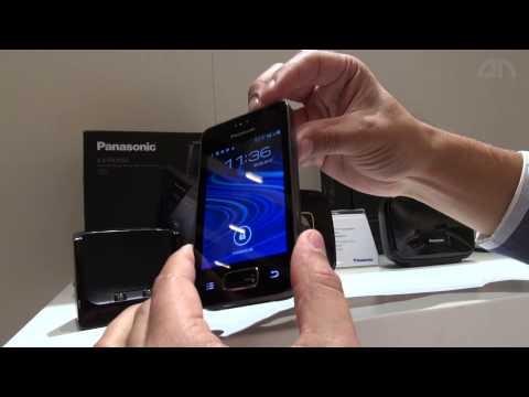 Panasonic KX PRX150GB, KX PRX120GW, KX PRX110GW - Android-Festnetztelefone - Hands-On - IFA 2013