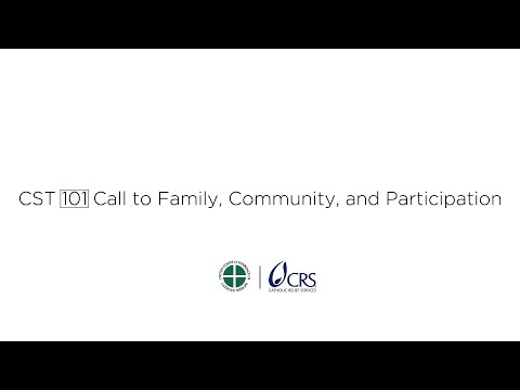 Call to Family, Community, and Participation