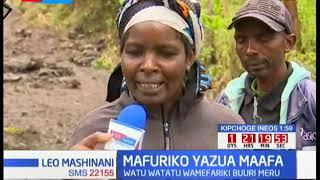 Watu 3 wamefariki eneo la Buuri kaunti ya Meru baada ya kusombwa na maji
