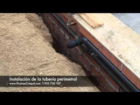 Construcción e instalación de una piscina de obra