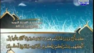 المصحف المرتل 15 للشيخ العيون الكوشي برواية ورش