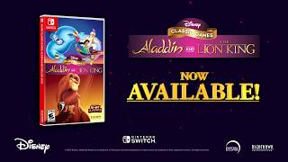 Disney Classic Games: Aladdin and The Lion King Launch Trailer Nintendo Switch