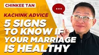 RELATIONSHIP TIPS: 5 SIGNS TO KNOW IF YOUR MARRIAGE IS HEALTHY