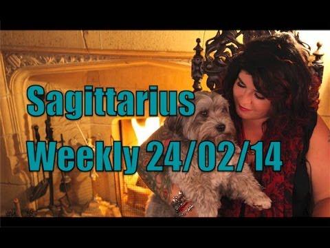 Sagittarius astrology forecast 24th Feb 2014 with Michele Knight