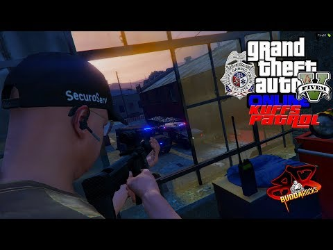 GTA 5 Kuffs FiveM - Simple Traffic Stop Gone Wrong - JBTWIN286