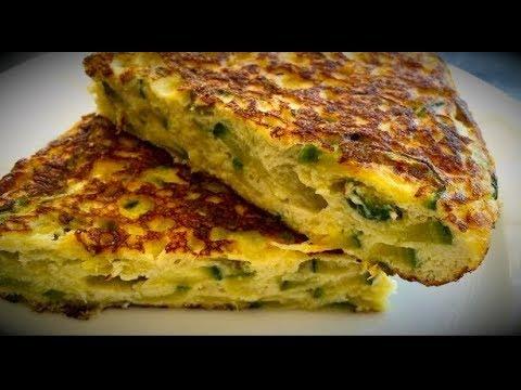 Tortilla de zapallitos Italiano dietetica (receta super facil)