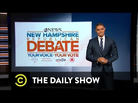 Facing Off at the GOP Debate: The Daily Show