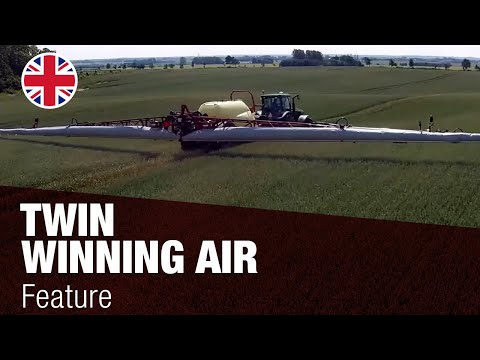 HARDI TWIN FORCE - патентована система за пръскане с въздушна асистенция