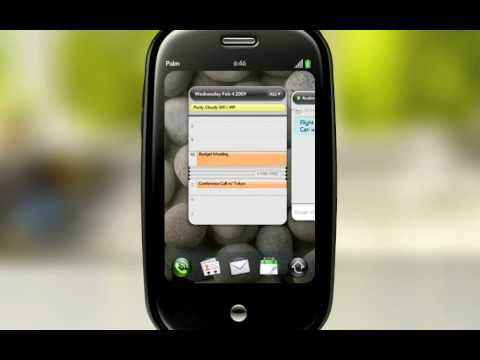 Palm Pre Gets Its Calendar Demo On Right Before MWC