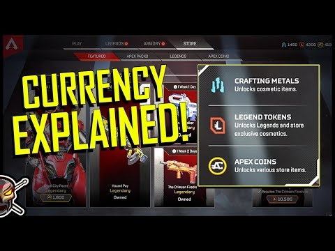 Apex Legends Currency EXPLAINED - How to Earn and Spend!