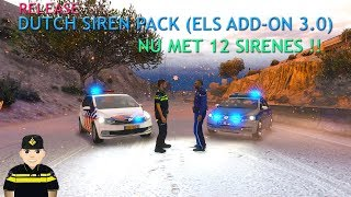 Dutch Siren Pack (ELS Add-On)