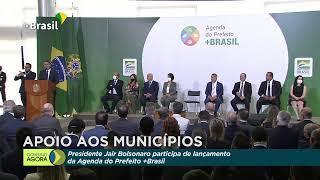 Presidente Bolsonaro lança programa Prefeito +Brasil