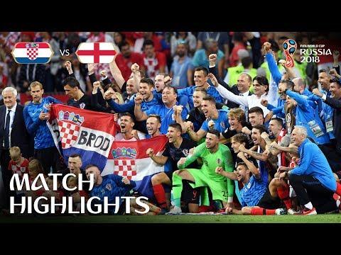 Russia 2018 / Croazia-Inghilterra 2-1 dts