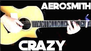 Aerosmith - Crazy - Fingerstyle Guitar