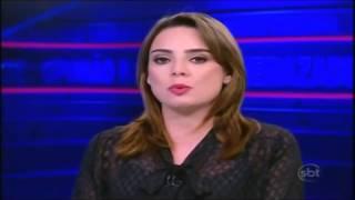 "Rachel Sheherazade - ""Adote um Bandido"" - SBT BRASIL 04/02/2014"