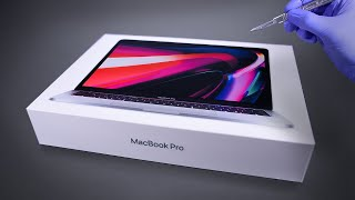Apple MacBook Pro M1 Unboxing and Gaming Test - ASMR