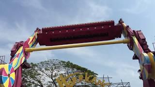 Hurricane Ride From Dreamworld Bangkok, Thailand