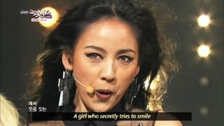 Lee Hyori - Bad Girls (2013.06.15) [Music Bank w/ Eng Lyrics