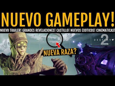 Destiny 2: Nuevo Gameplay Tráiler del DLC! Nuevos Exóticos! Fantasmas! Castillo! Cinemáticas y más!