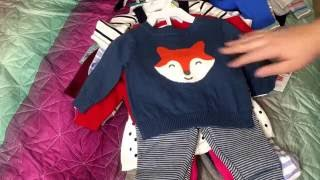 Baby Clothes Haul From JcPenny, Babies R Us, And Target!! Reborn Frankie Got Some New Clothes!!