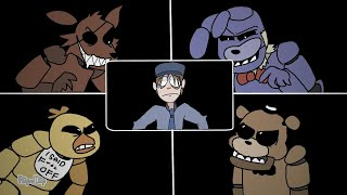 The Fnaf1 Vr Experience Animation (shitpost?)
