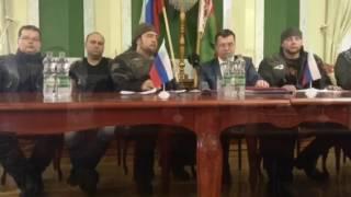 Пресс-конференция Ночных Волков в Бресте перед выездом к границе