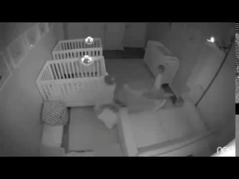 Ever wonder what 2-year-old twins might do in the middle of the night?