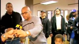 """Dame Dash Toasts To Jay-Z's Birthday At The Rocafella Offices! """"Jays My Best Friend"""""""