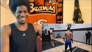 ALL THAT TRAINING FOR NOTHING! | FlightReacts 1V1 AGAINST Mikey Williams (Basketball Trainer Reacts)
