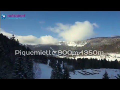 Domaine skiable de Métabief - Versant Piquemiette