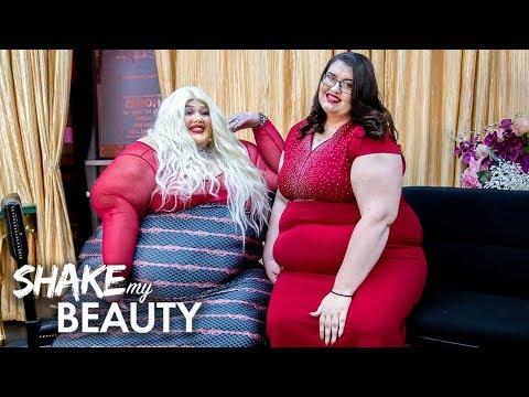 550lb Beautician Launches Plus-Size New Salon And NightClub   SHAKE MY BEAUTY