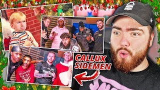 Reacting to the CALLUX and SIDEMEN Christmas Songs ft. S-X, Jme & LayZ