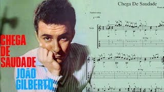 """ Chega De Saudade ""  [ Antonio Carlos Jobim ] fingerstyle ( ソロギター ) arrange TAB"