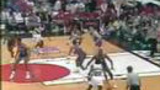 The '007' Game! Detroit @ Portland - NBA FINALS 1990 Game 5