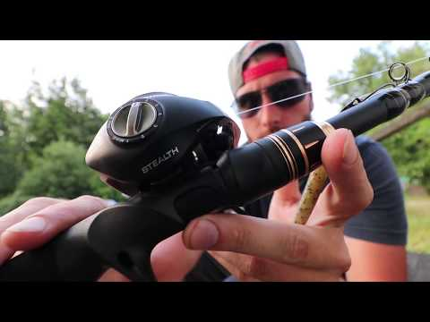 Telescopic CASTING ROD? KastKing BlackHawk 2 Review!