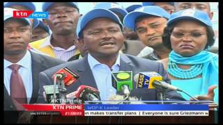 Kalonzo Musyoka demands an apology from Dr. Agnes Zani after she triggered feud over NASA ticket